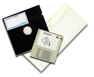 Old floppy discs