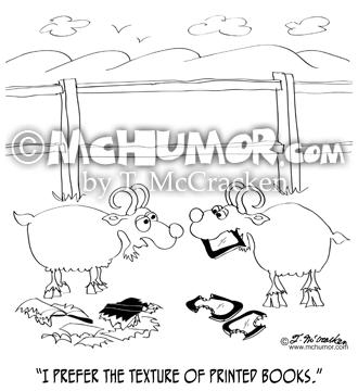 9307 Goat Cartoon