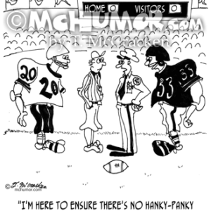 9356 Football Cartoon