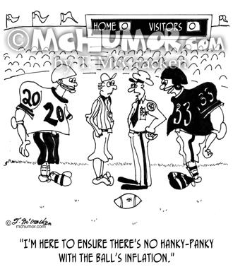 9356 Football Cartoon