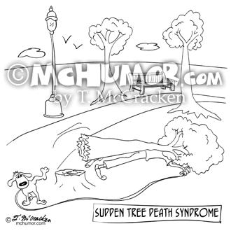 9316 Tree Cartoon