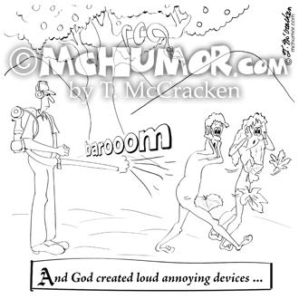 9326 Leaf Blower Cartoon