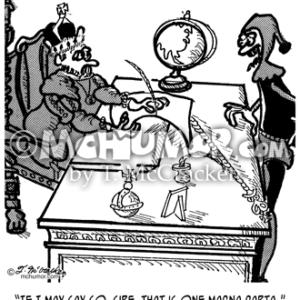 2639 Magna Carta Cartoon