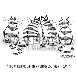 3060 Cat Cartoon