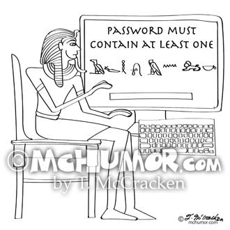 9341 Computer Cartoon