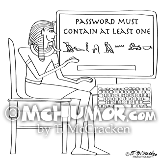 9341 Computer Cartoon