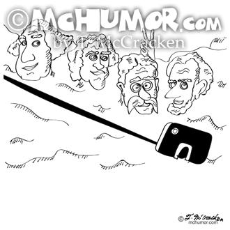 9342 Selfie Cartoon