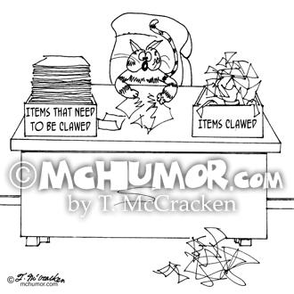 6893 Cat Cartoon