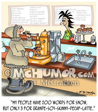 9391 Coffee Cartoon