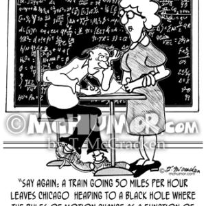 9478 Math Class Cartoon