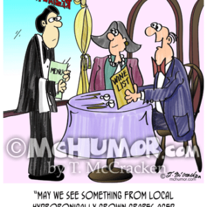 9496 Wine Cartoon