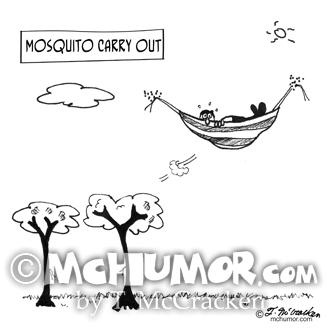 3394 Mosquito Cartoon