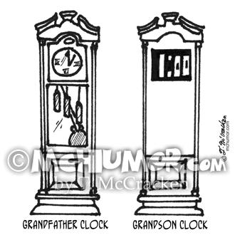 3212 Clock Cartoon