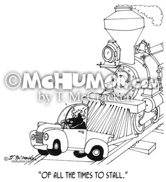 3230 Train Cartoon