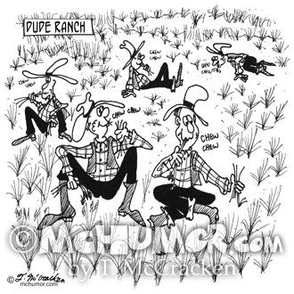 4690 dude ranch cartoon