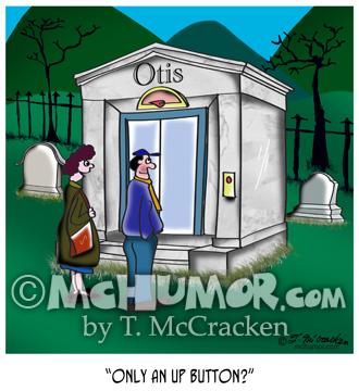 Elevator Cartoon 9648