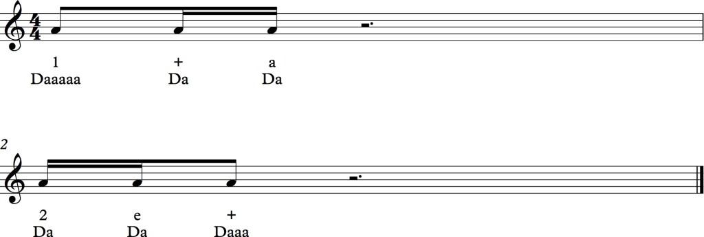 rhythm sentences