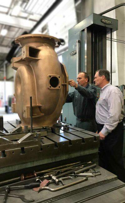 Bronze Industrial Pump
