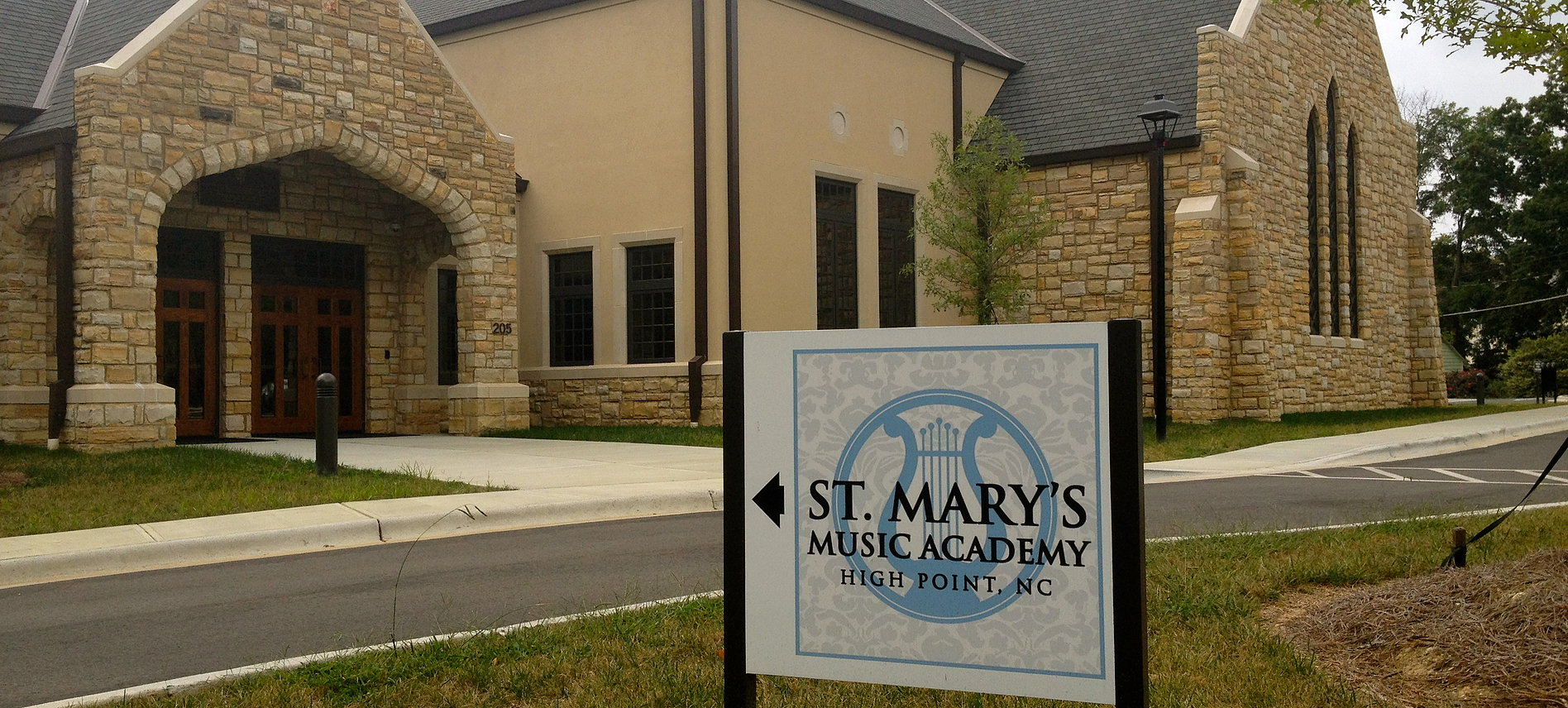 Recital at St. Mary's Music Academy