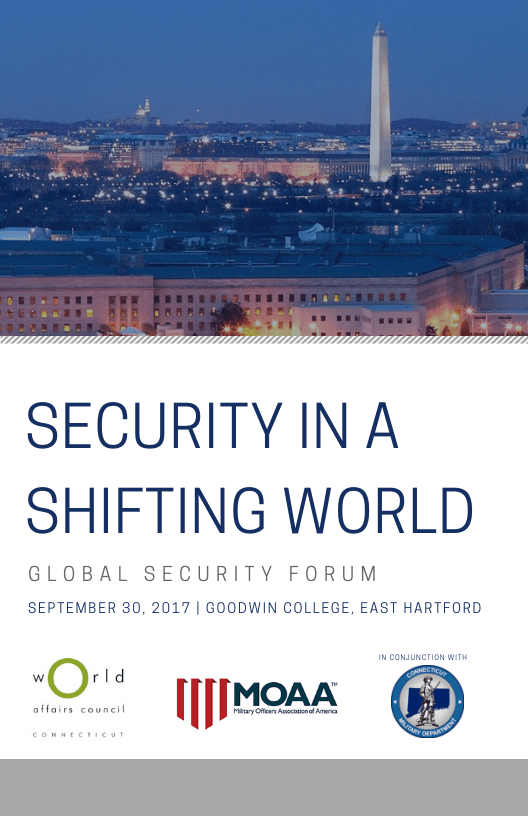 Global Security Forum 2017 Program