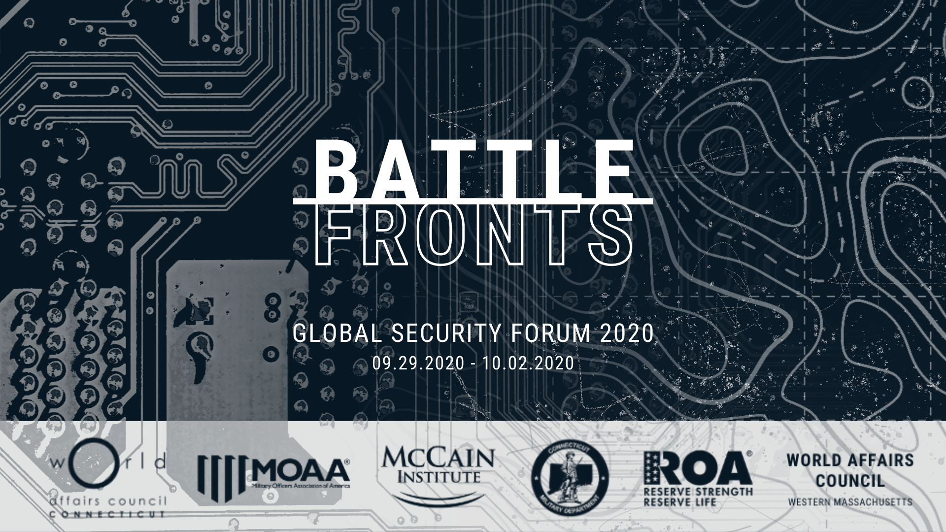 Global Security Forum 2020 Battlefronts