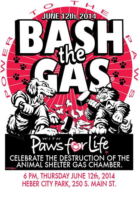 Bash the Gas poster