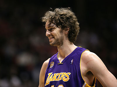 Is that Paul Gasol or the world's tallest homeless European?