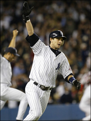 I have not made the finals in Boston in 5 years and Aaron Boone no longer comforts me.