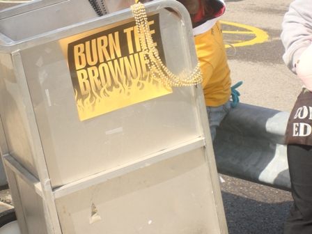 In Pittsburgh, Brownies are a rival and a euphamistic slur.