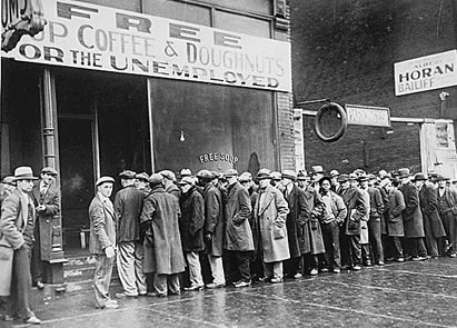What do you call a breadline where there never was bread in the first place: Comedy Open Call.
