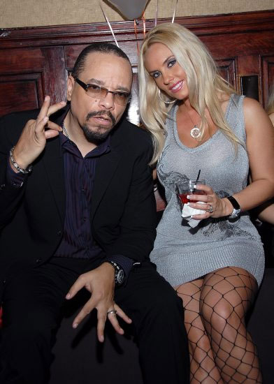"""Ice T and Coco sporting the """"Atlantic City"""" look"""