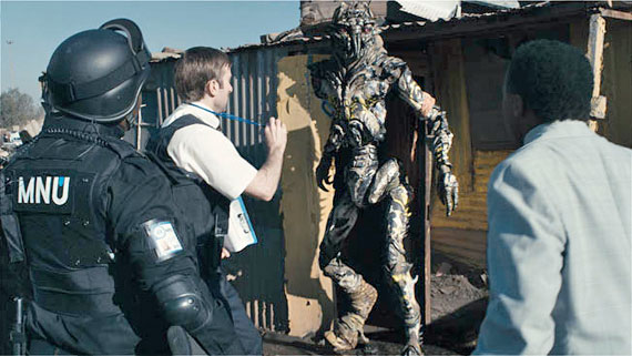 After thinking again about the 4,558 movies I saw this year, District 9 is #1.