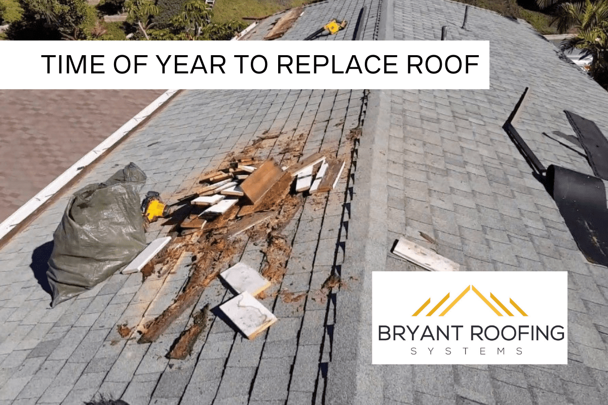 SUMMER TIME ROOF REPLACEMENT
