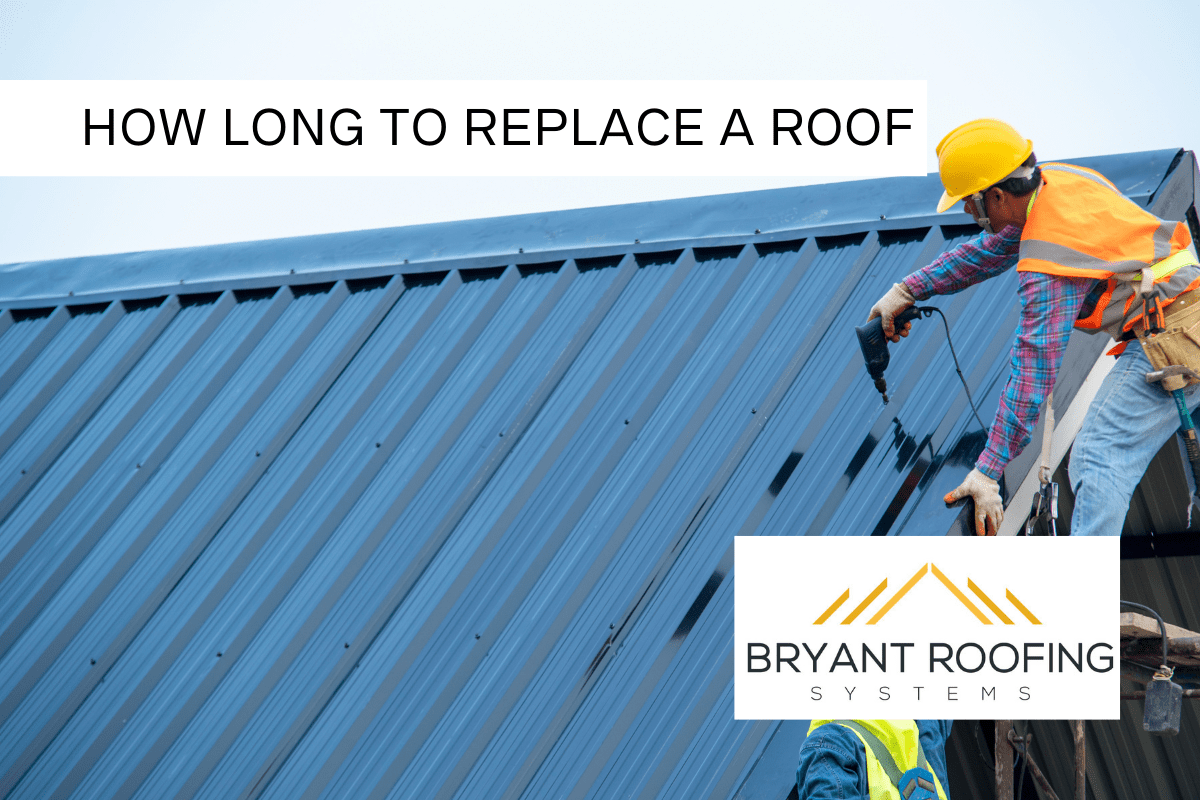 how long replace a roof