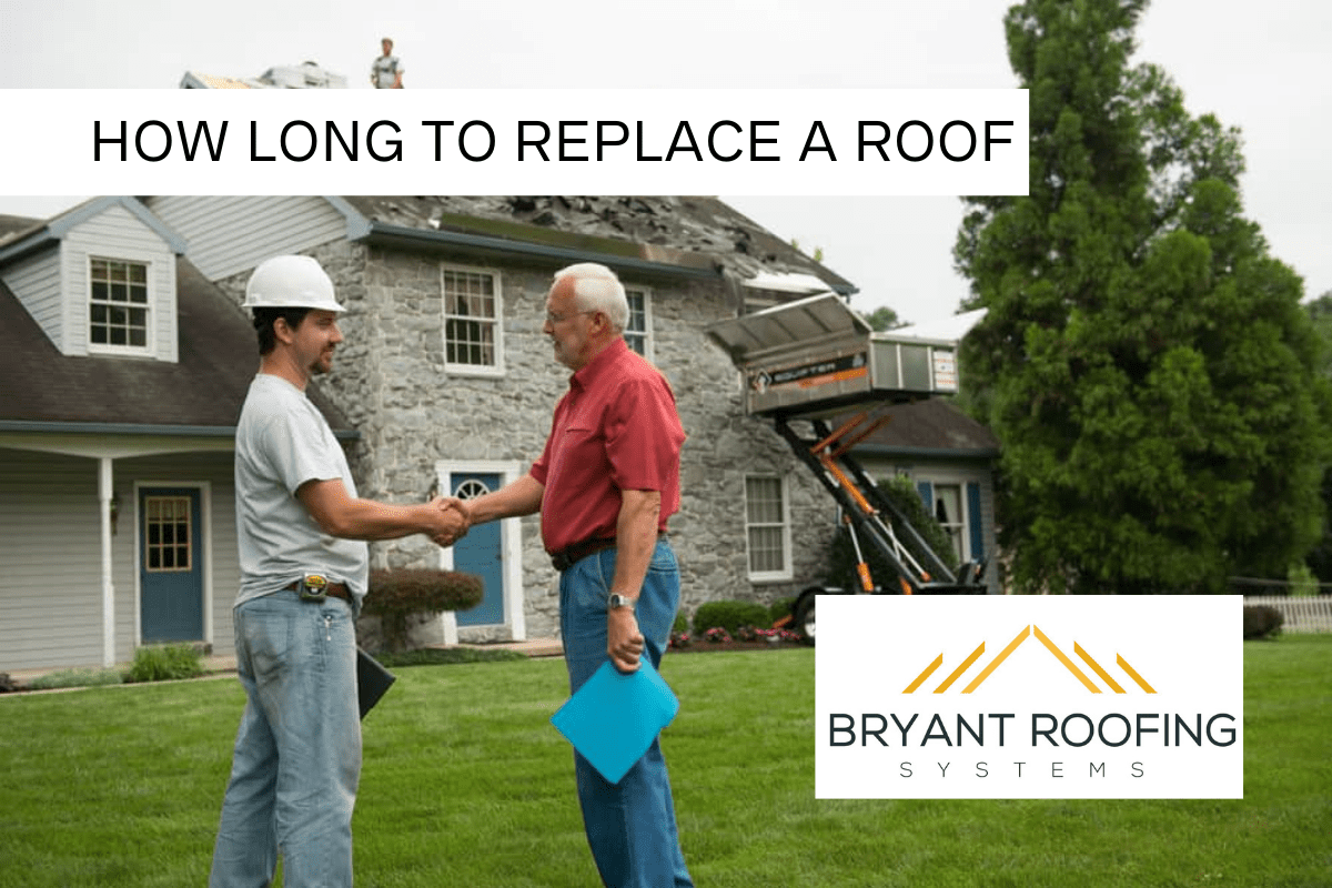 how long to replace a roof