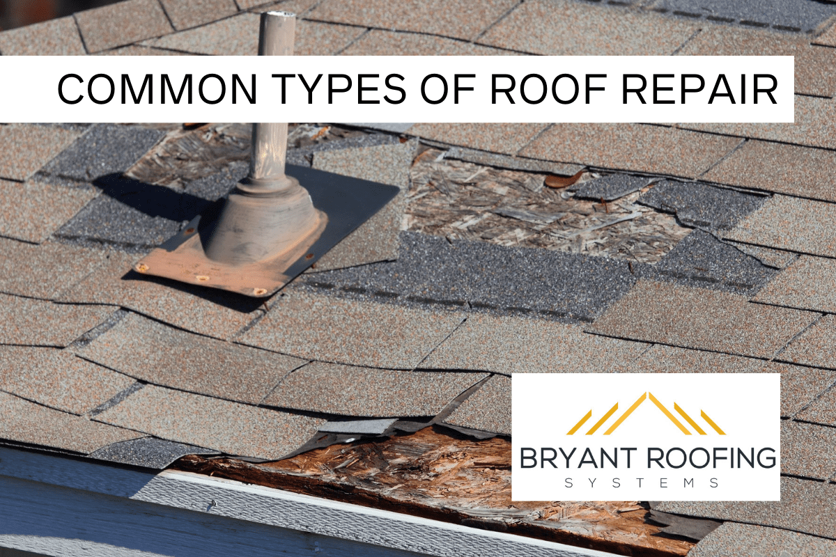 common roof repairs