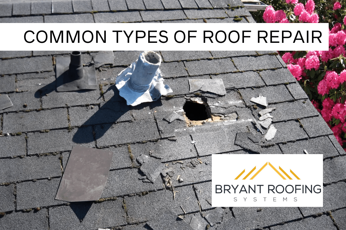 types of roof repairs