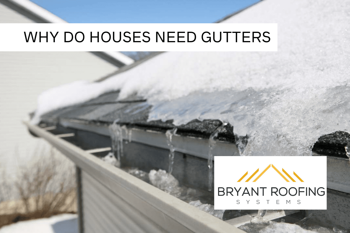 GUTTERS NECESSARY