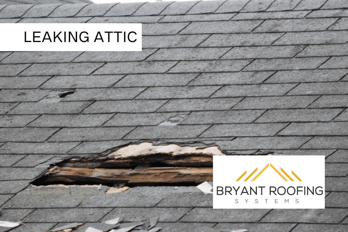 LEAKING ATTIC