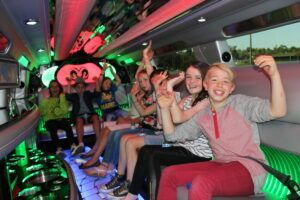 Chicago kids Party Bus