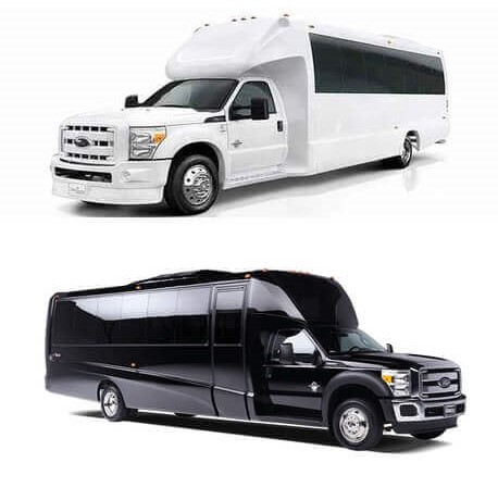 Chicago party bus rental rates