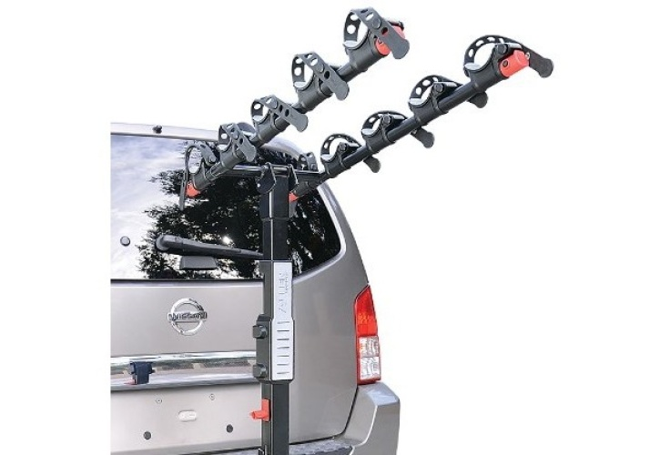 Allen Sports bike rack for trailer hitch available in 2, 3, 4, and 5 bike models