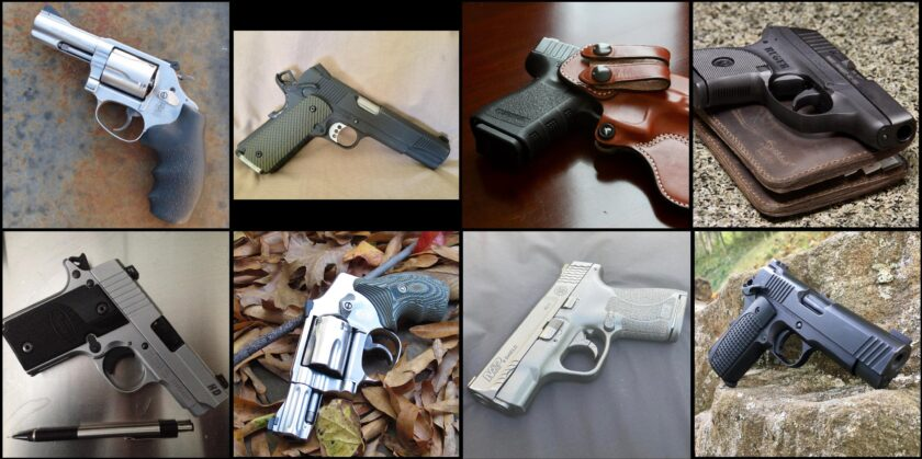 My concealed carry handguns.