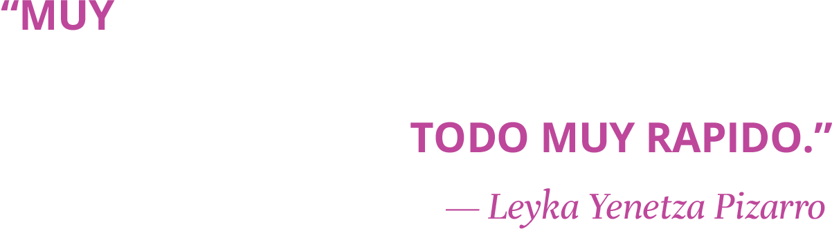 Muy buena experiencia todo muy rapido. - Leyka Yenetza Pizarro