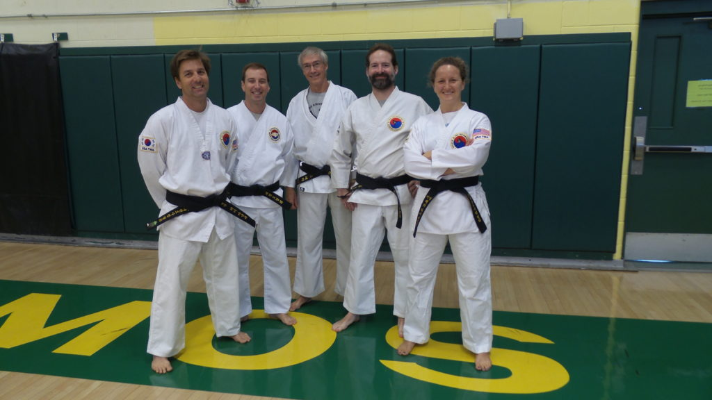 Instructors at a promotion test (2015)