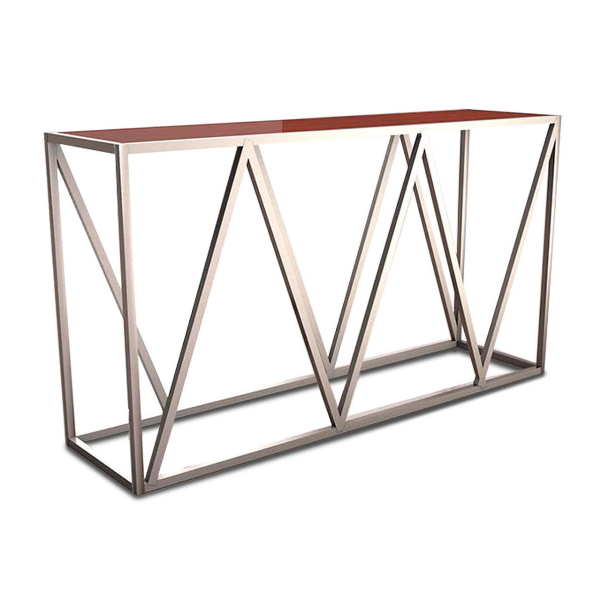 chevron-console-table