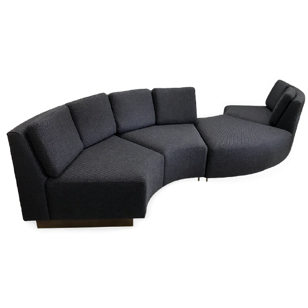 s curve sofa sectional commercial