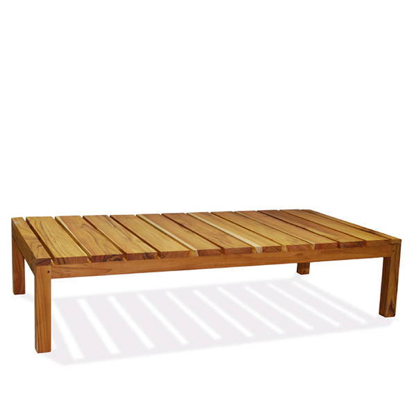 wooden outdoor patio table