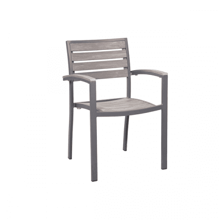outdoor armchair for commercial use