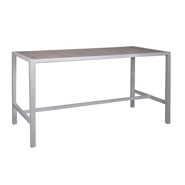 outdoor bar height dining table